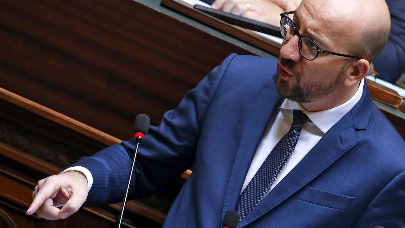 El primer ministro belga explica en el parlamento las nuevas medidas contra el EI.