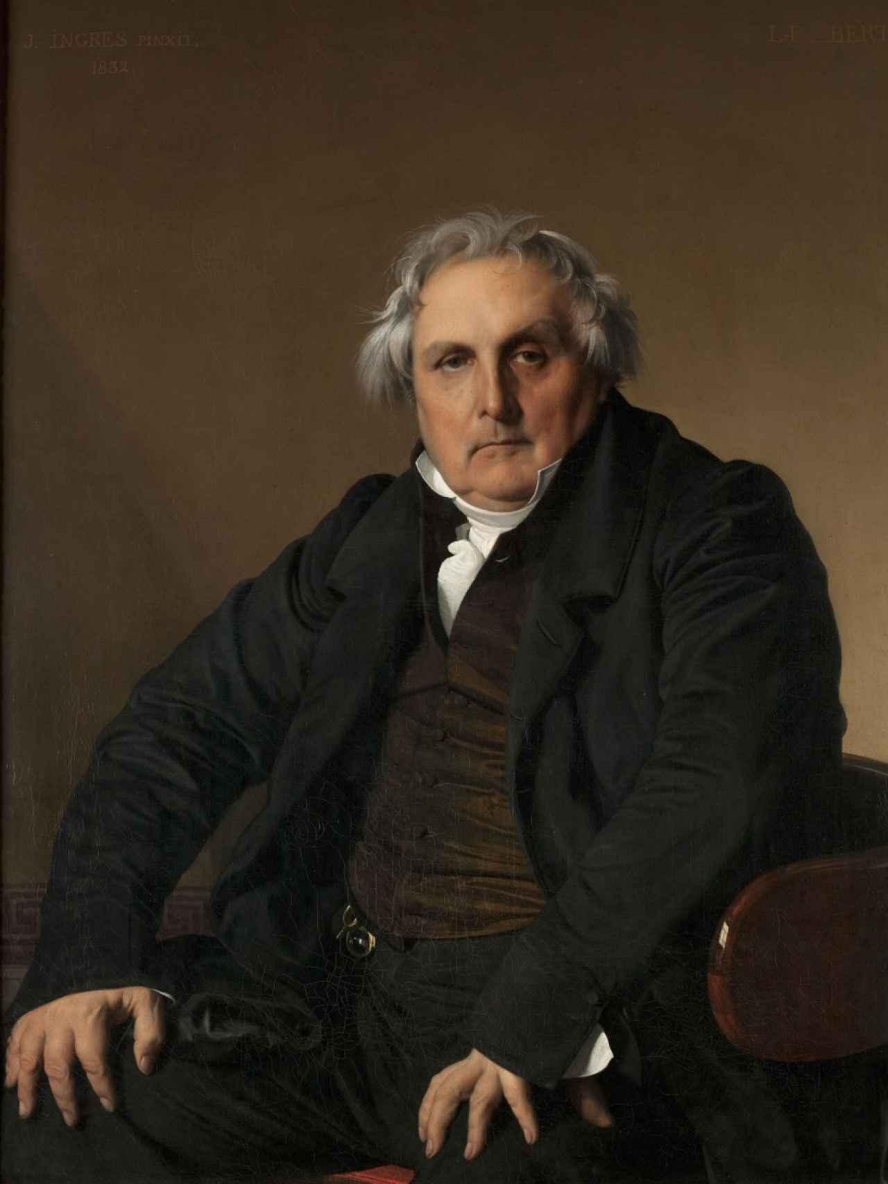 Retrato de Louis-François Bertin.