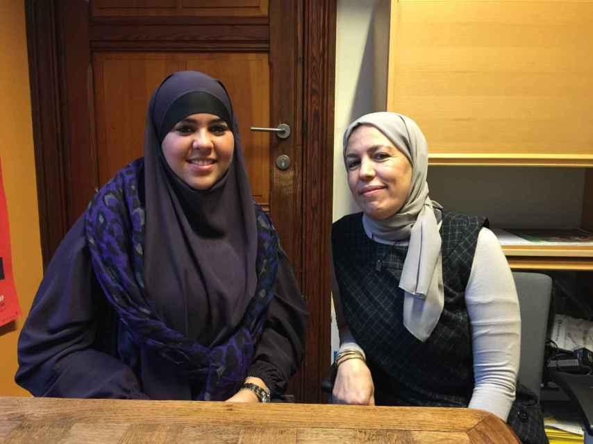 La joven musulmana.