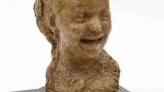 La niña que ríe de Medardo Rosso, en el Museo Reina Sofía.