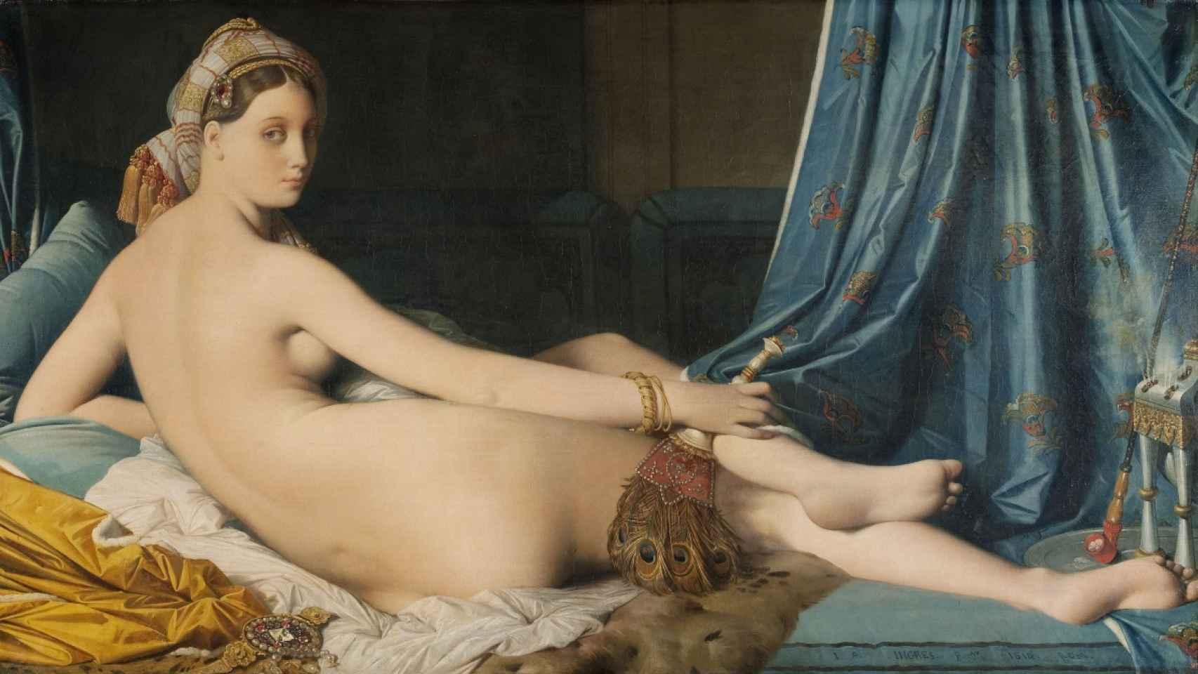 La gran odalisca del pintor francés, expuesta en El Prado.
