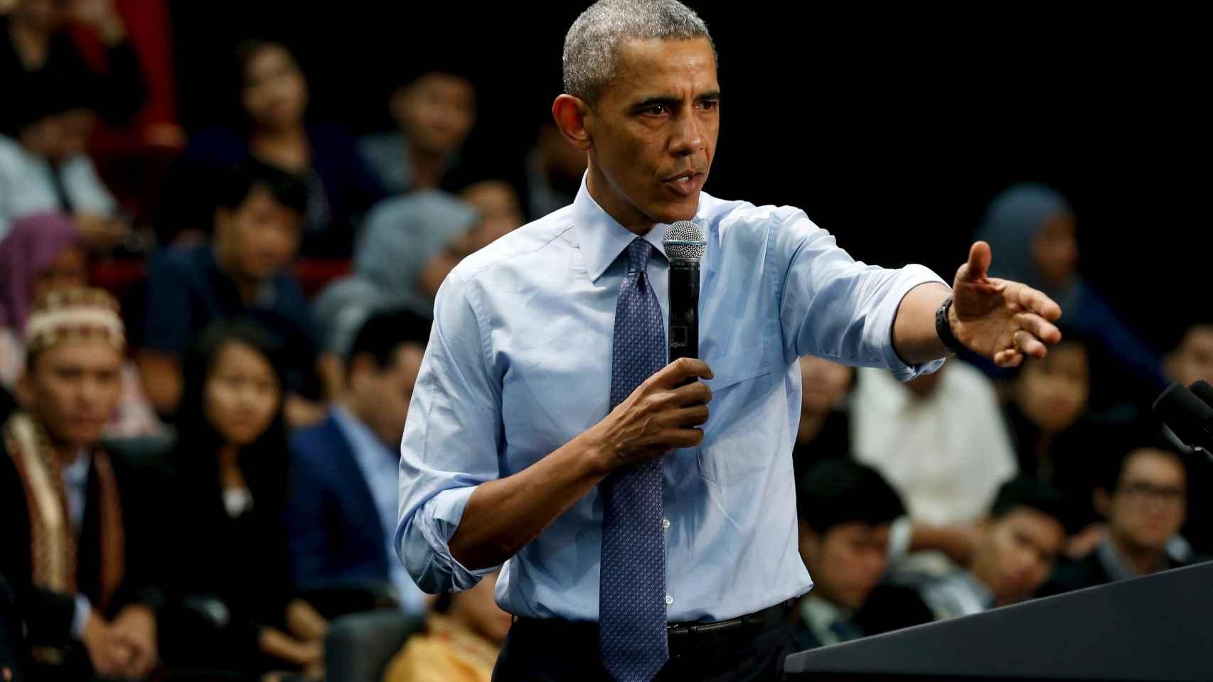 Obama quiere acoger a otros 10.000 refugiados sirios.