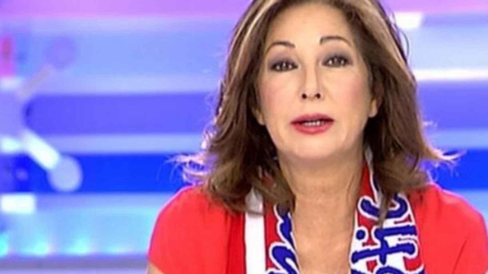 Ana Rosa estará pendiente del partido