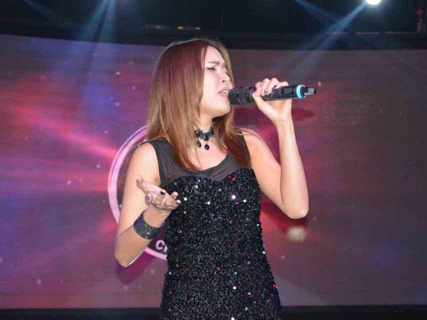 La cantante de Tailandia.