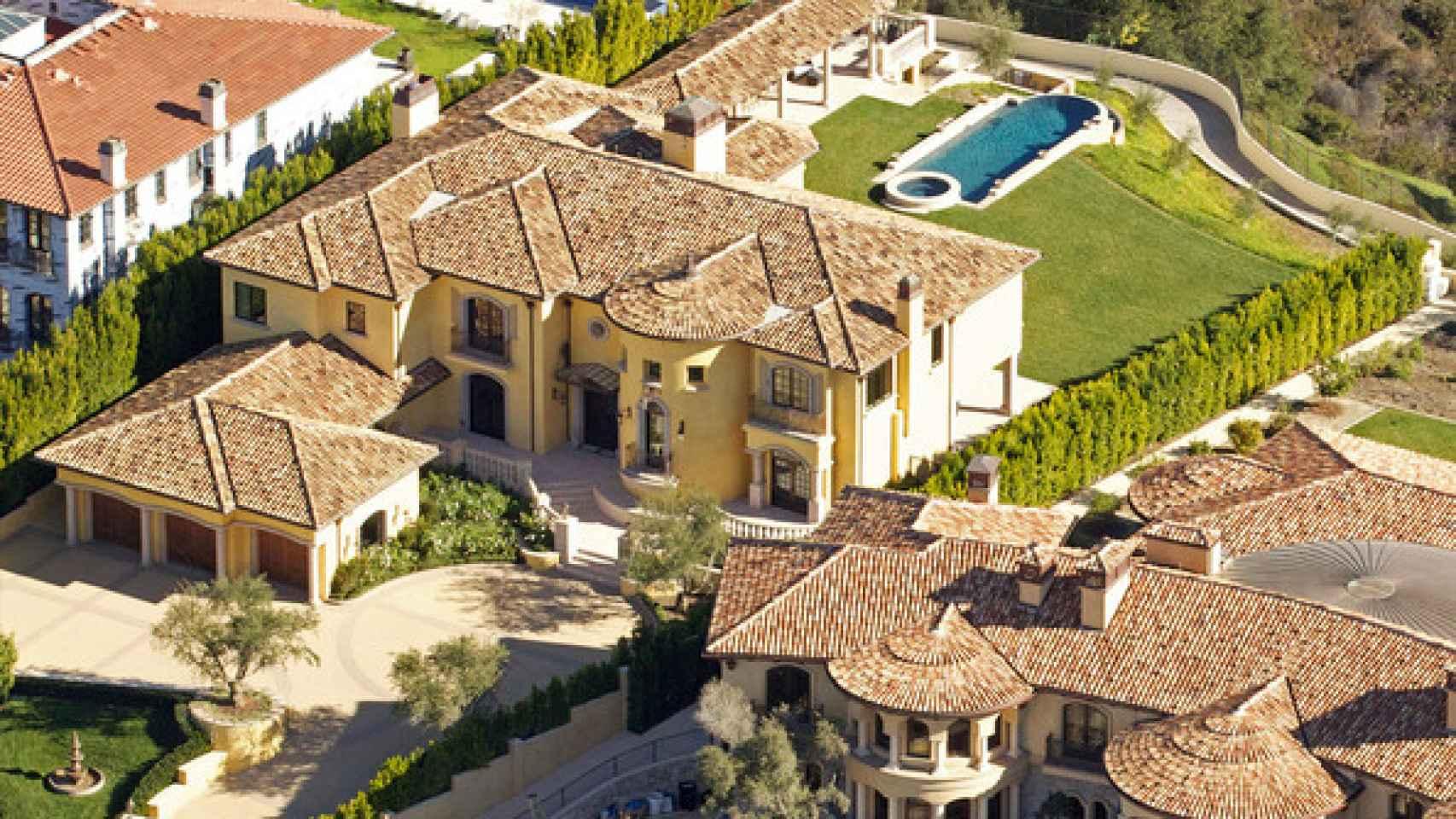 Casa de Kim y Kanye West antes de la renovación
