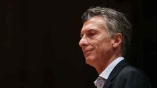 El presidente electo Macri, en rueda de prensa.