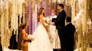 Así ha sido la boda de Sofía Vergara y Joe Manganiello