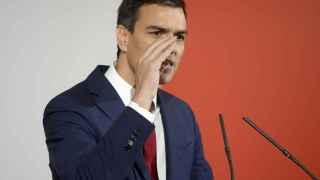 El líder del PSOE, Pedro Sánchez, durante un acto.