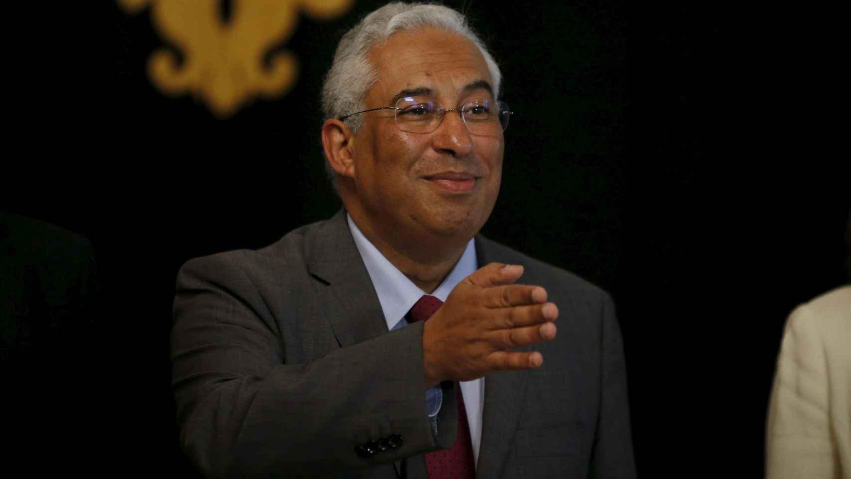 El nuevo primer ministro de Portugal, Antonio Costa.