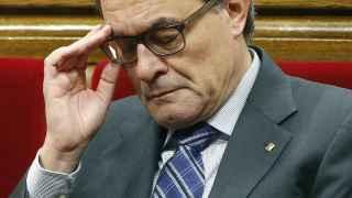 El president en funciones de la Generalitat, Artur Mas.