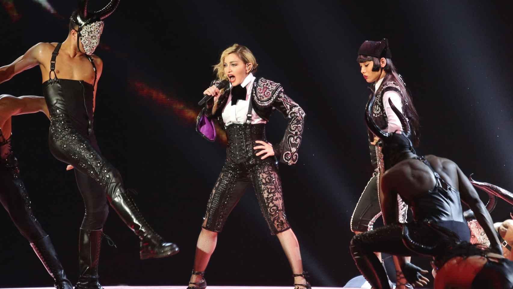 Madonna en Vancouver (Canada) el 14 de octubre en su última gira
