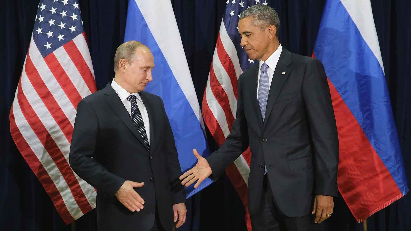 Putin y Obama, dos líderes muy diferentes.
