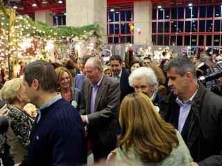 El Rey Don Juan Carlos visitó el Rastrillo Nuevo Futuro el pasado domingo