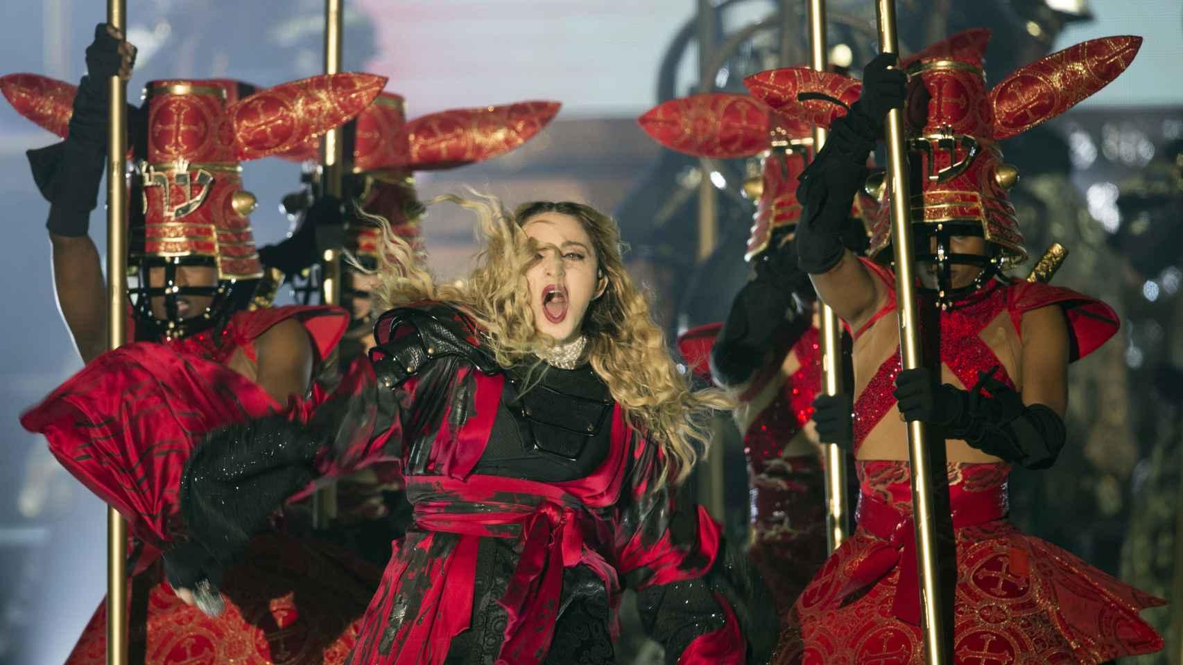 Madonna en su primer concierto en Barcelona por la gira Rebel Heart Tour