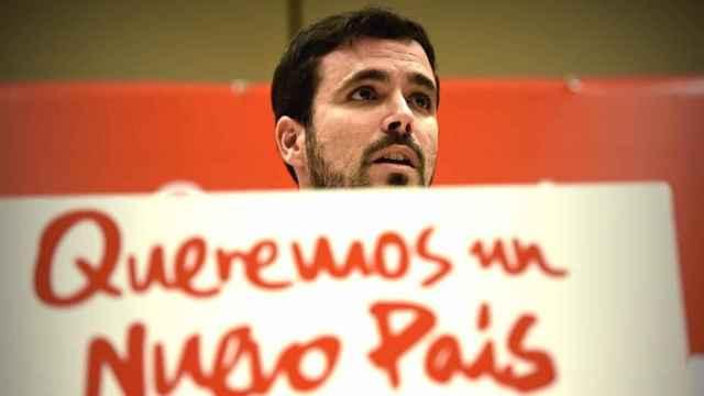 IU quiere vetar los debates sin Alberto Garzón