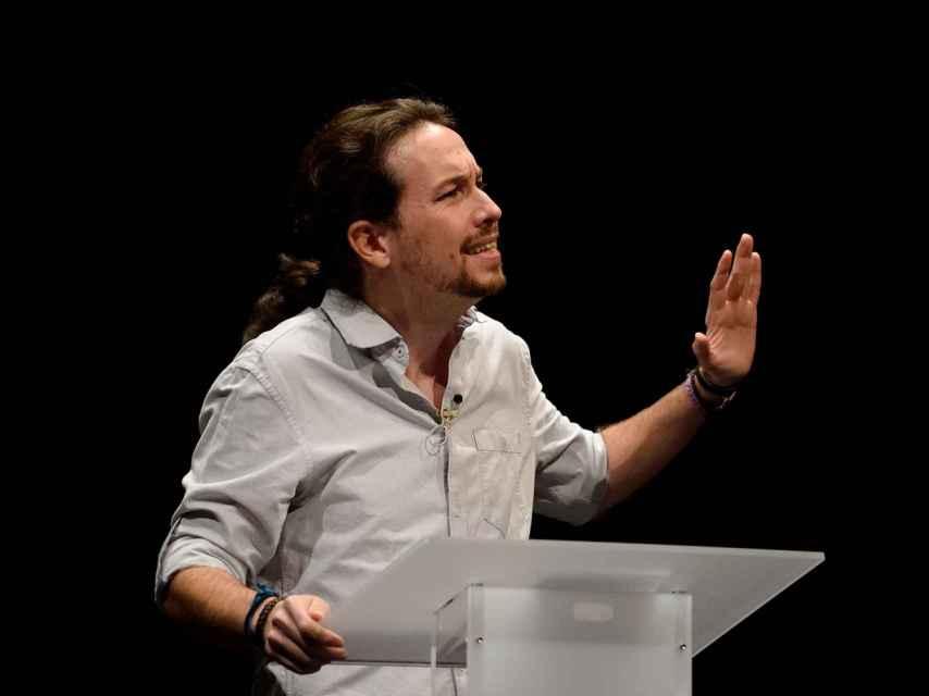 El líder de Podemos.