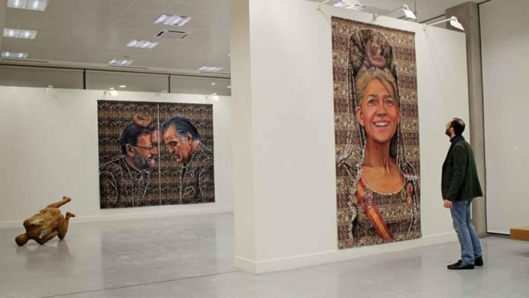 Exposicion censurada Ausín Sainz, en Salamanca.