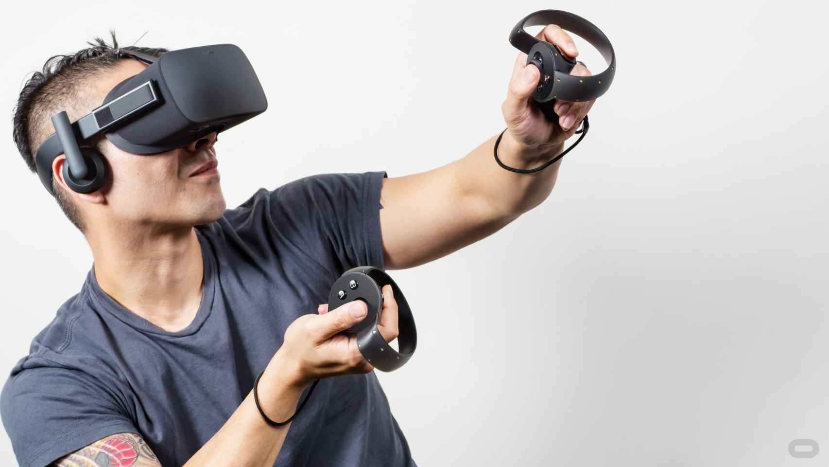 El sistema Oculus Touch prometen más interacción.
