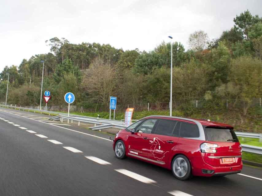 El primer coche autónomo de Vigo a Madrid.