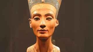 El busto de Nefertiti, en el Museo Egípcio, en Berlín