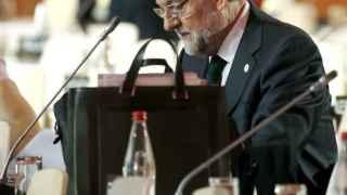 Mariano Rajoy durante la cumbre del cambio climático.