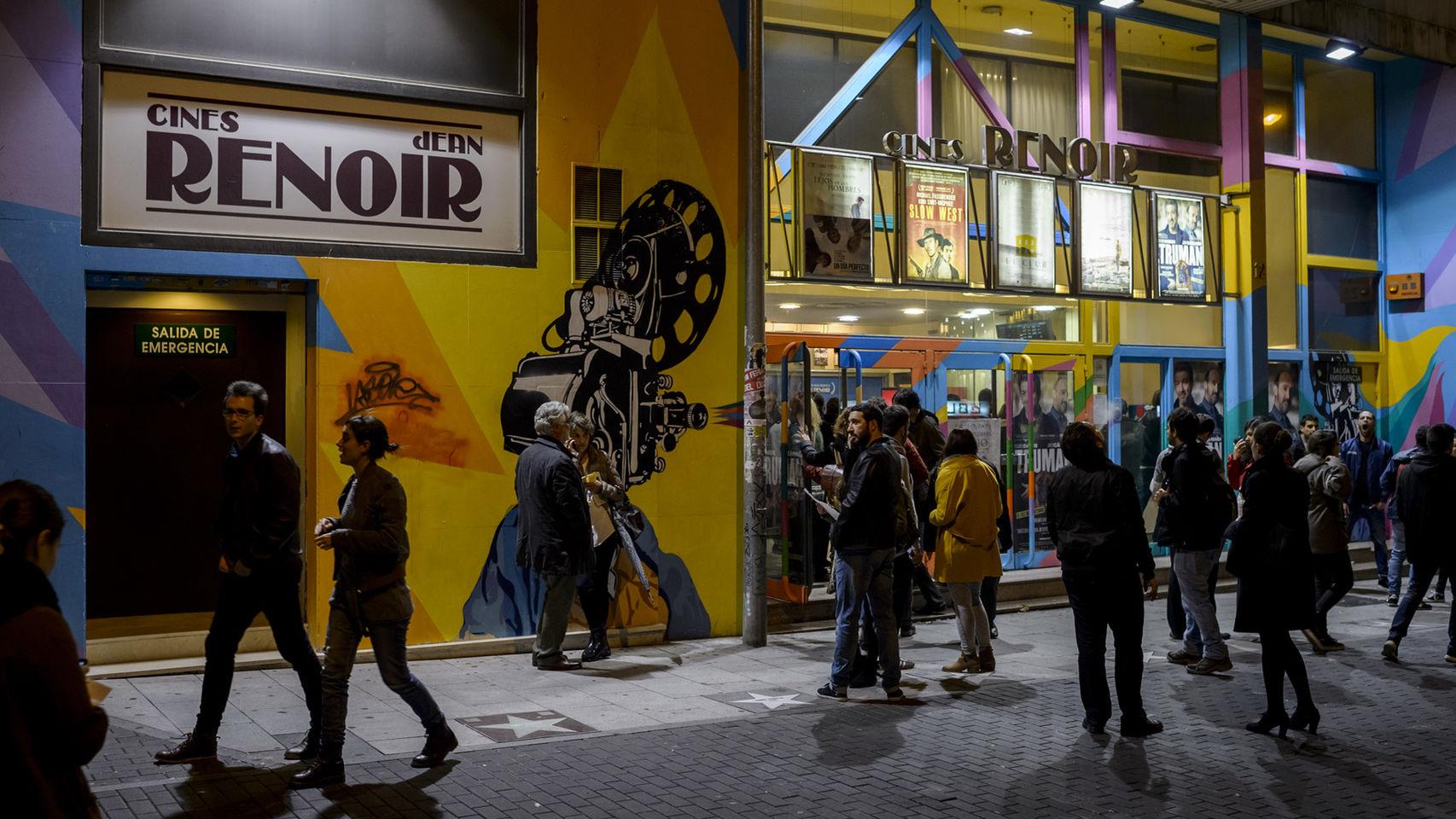 Última Fiesta del Cine en Madrid.