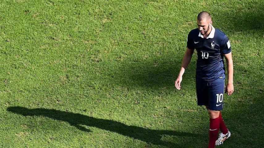 El delantero francés Karim Benzema.