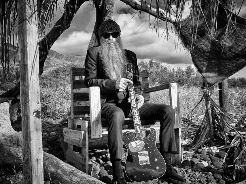 Billy Gibbons en Hawai.
