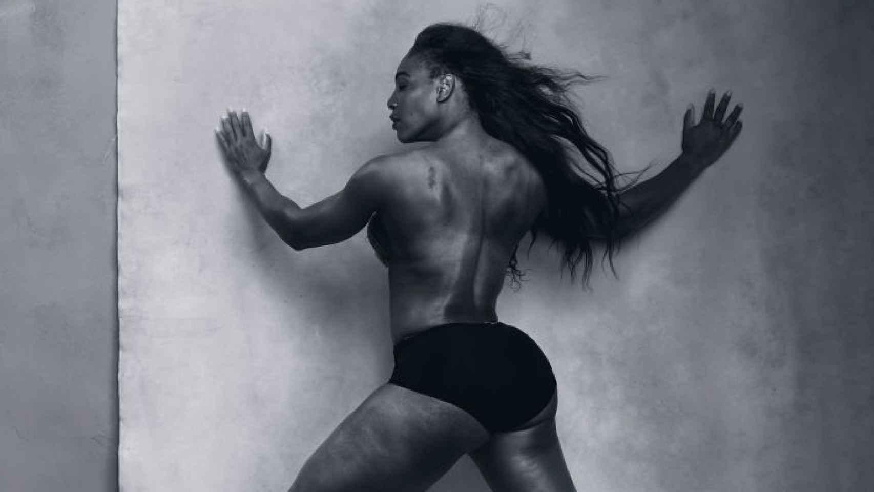 La número uno mundial y reina del tenis femenino, Serena Williams.