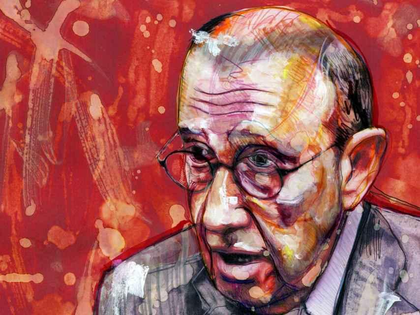 Retrato de Mauricio Casals, el presidente de 'La Razón'.