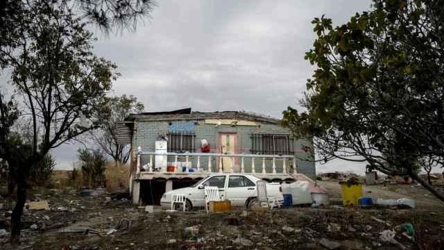 Vivienda ilegal en la Cañada