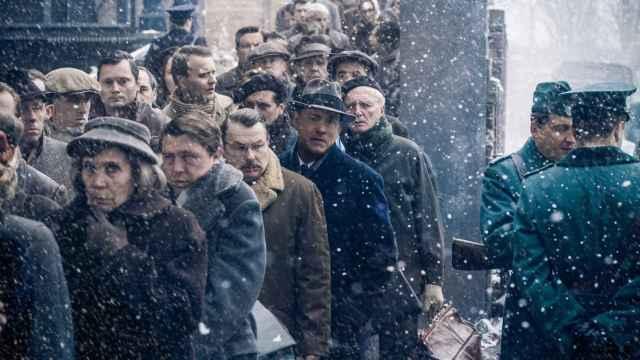 Hanks, en otra escena del filme de Spielberg