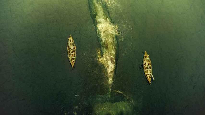 Una escena de En el corazón del mar, el filme de Ron Howard