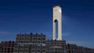 Planta de energía solar de Abengoa en Sanlucar la Mayor.