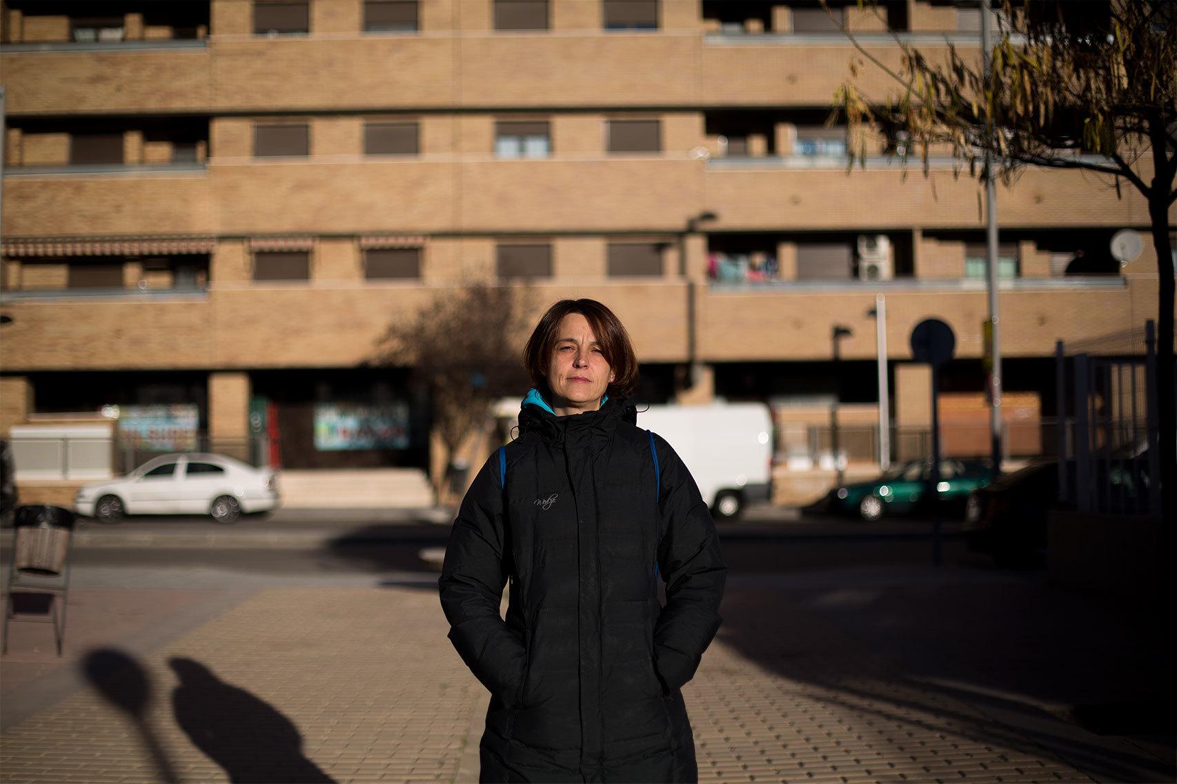 Virginia Dominguez, 43 años . Monitora del comedor del colegio.