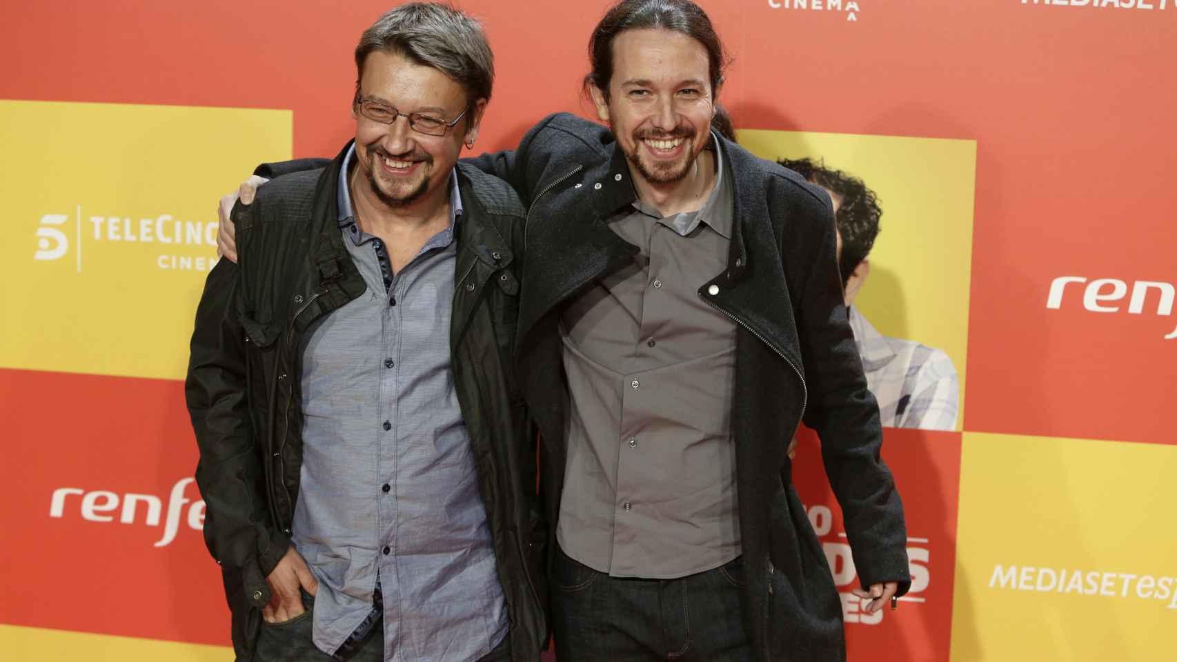 Pablo Iglesias acude a programas y estrenos en busca de más apoyos