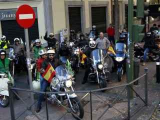 La marcha ha partido de la calle Diego de León hacia las 11.30 horas.