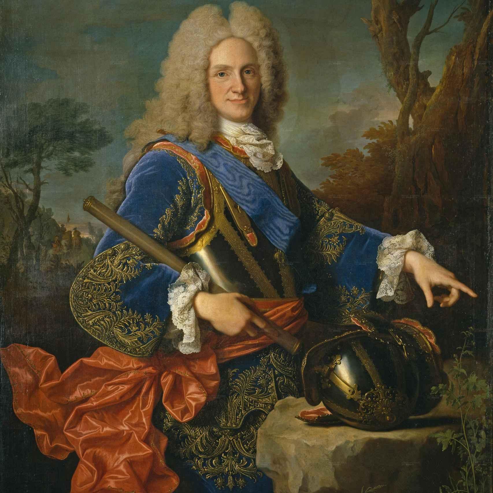 Retrato de Felipe V, por Jean Ranc (1723).