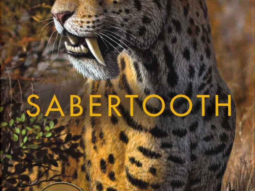 Portada del libro 'Sabertooth'.