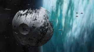 La Estrella de la Muerte es el arma definitiva del imperio.
