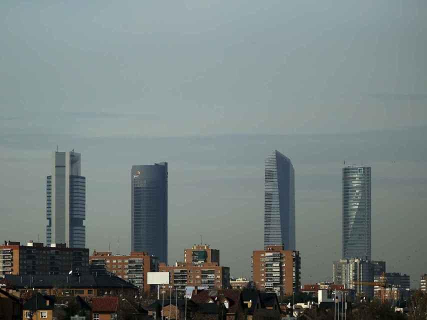 La contaminación en Madrid, un problema también ligado al clima.