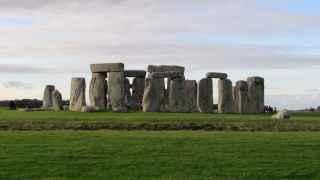 Stonehenge, en la planicie de Salisbury.