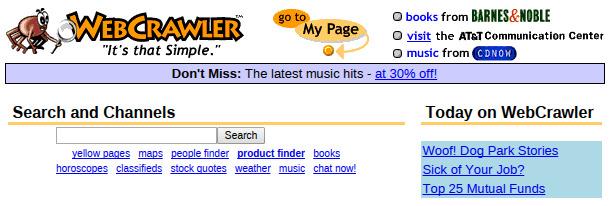 original webcrawler