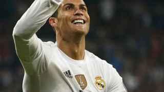 Ronaldo durante el partido contra el Malmöe