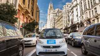 El servicio de Car2go cumple su primer mes en Madrid