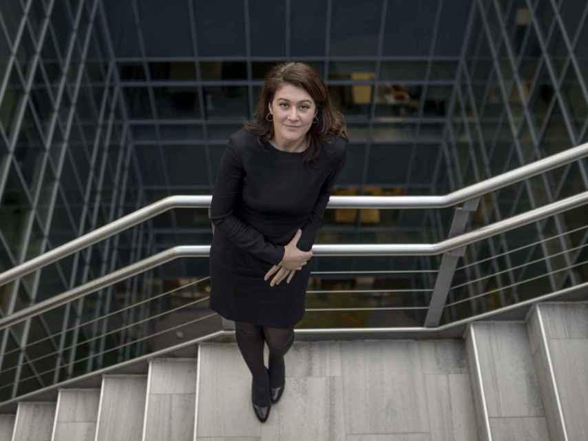 La responsable del fondo de inversión, Ulrike Decoene.