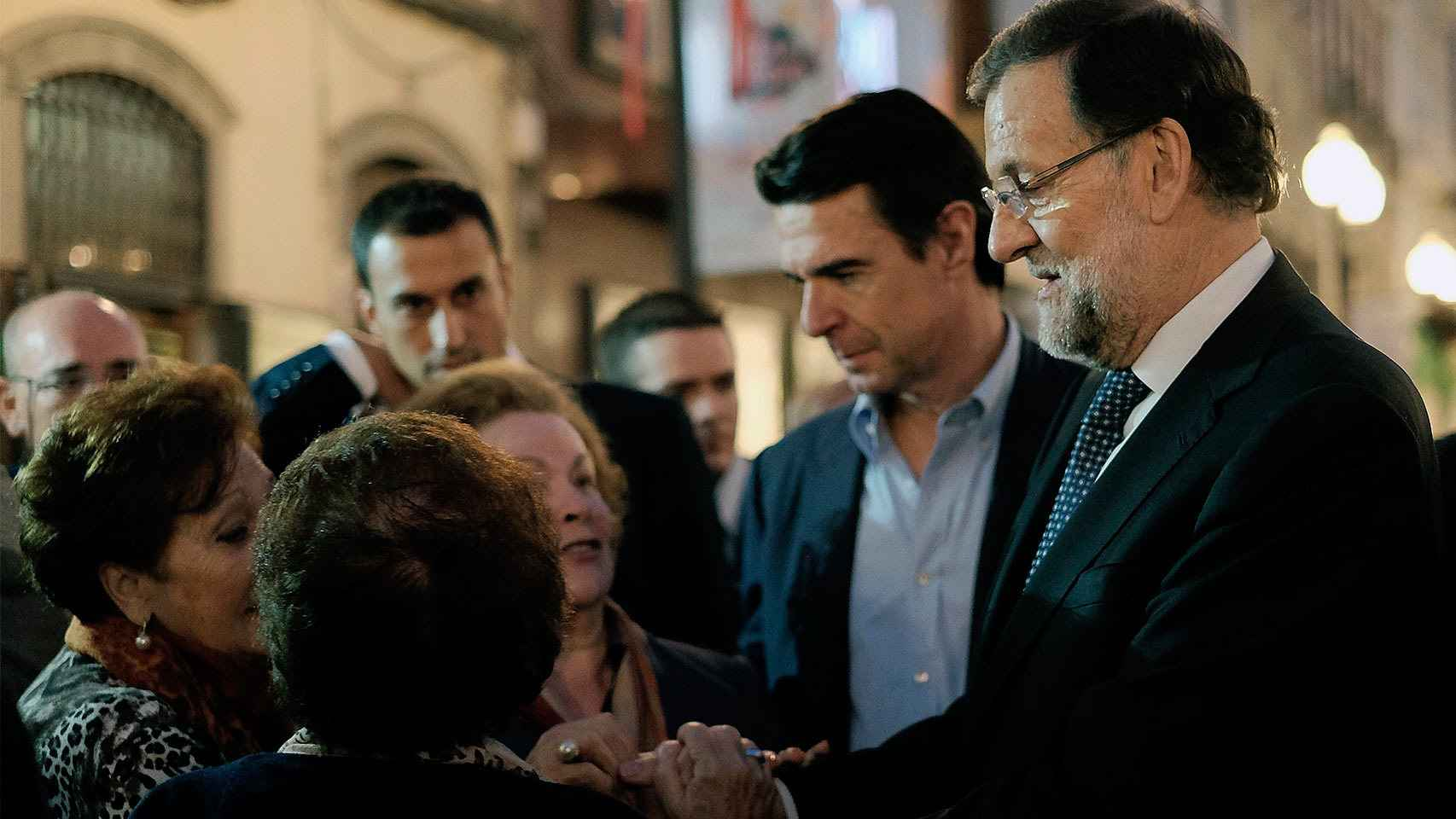 Rajoy en las Palmas de Gran Canaria.