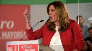 La presidenta andaluza Susana Díaz este miércoles en Granada.