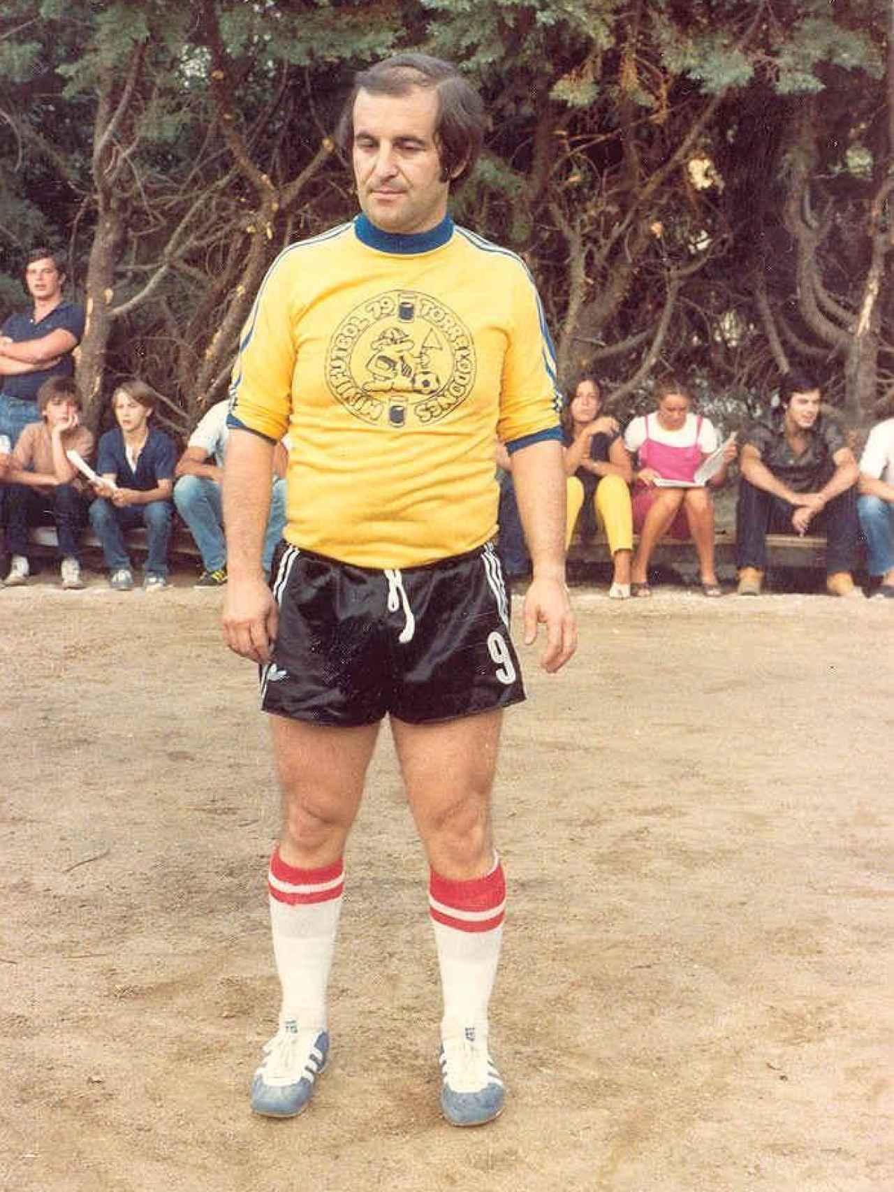 José María García en Torrelodones