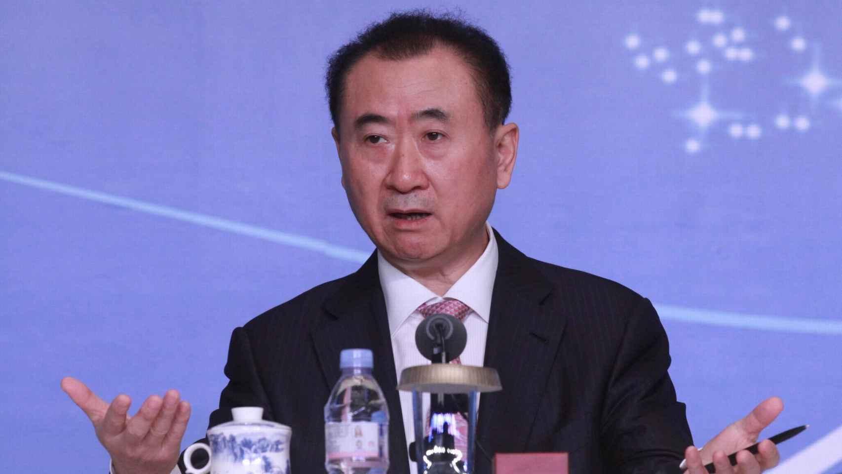 Wang Jianlin, prpietario de Wanda Sports.